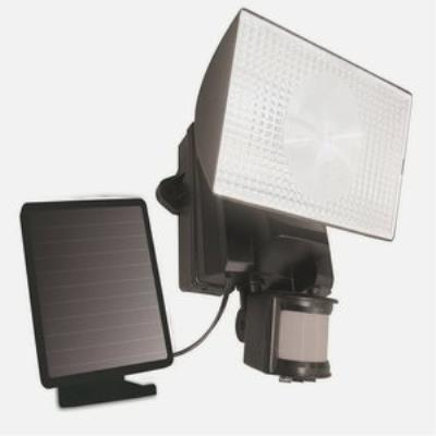 Maxsa Innovations 40223 Solar-Powered Motion-Activated 50 LED Outdoor Security Flood Light