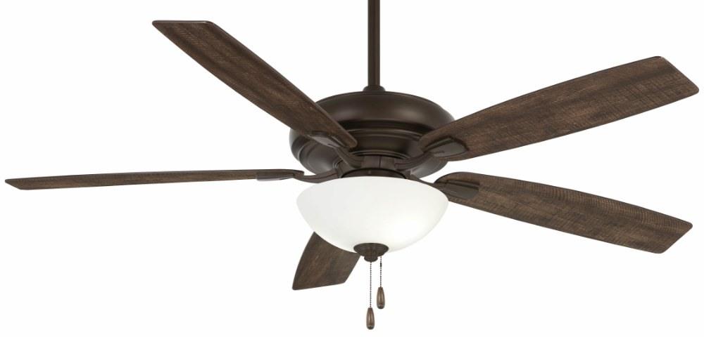 Minka Aire Fans-F552L-ORB-Watt II - 60 Inch Ceiling Fan with Light Kit  Oil Rubbed Bronze Finish with Oil Rubbed Bronze Blade Finish with White Frosted Glass