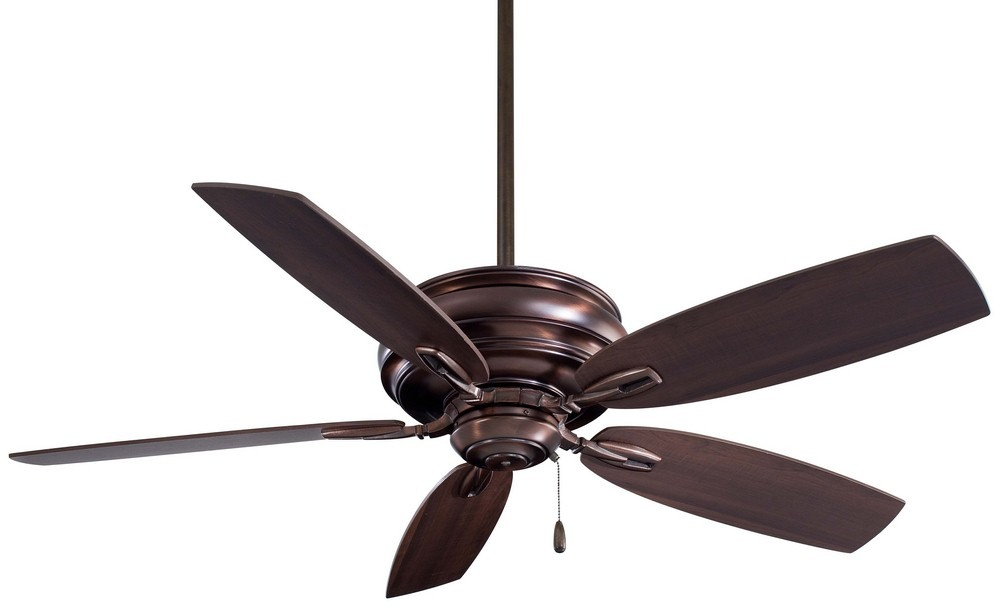 Minka Aire Fans-F614-DBB-Timeless - 54 Inch Ceiling Fan  Dark Brushed Bronze Finish with Dark  Maple Blade Finish
