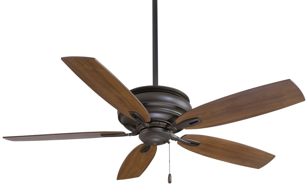 Minka Aire Fans-F614-ORB-Timeless - 54 Inch Ceiling Fan  Oil Rubbed Bronze Finish with Medium Maple Blade Finish
