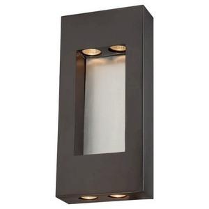 Minka Great Outdoors-72372-615B-Geox - Four Light Outdoor Pocket Lantern  Dorian Bronze Finish