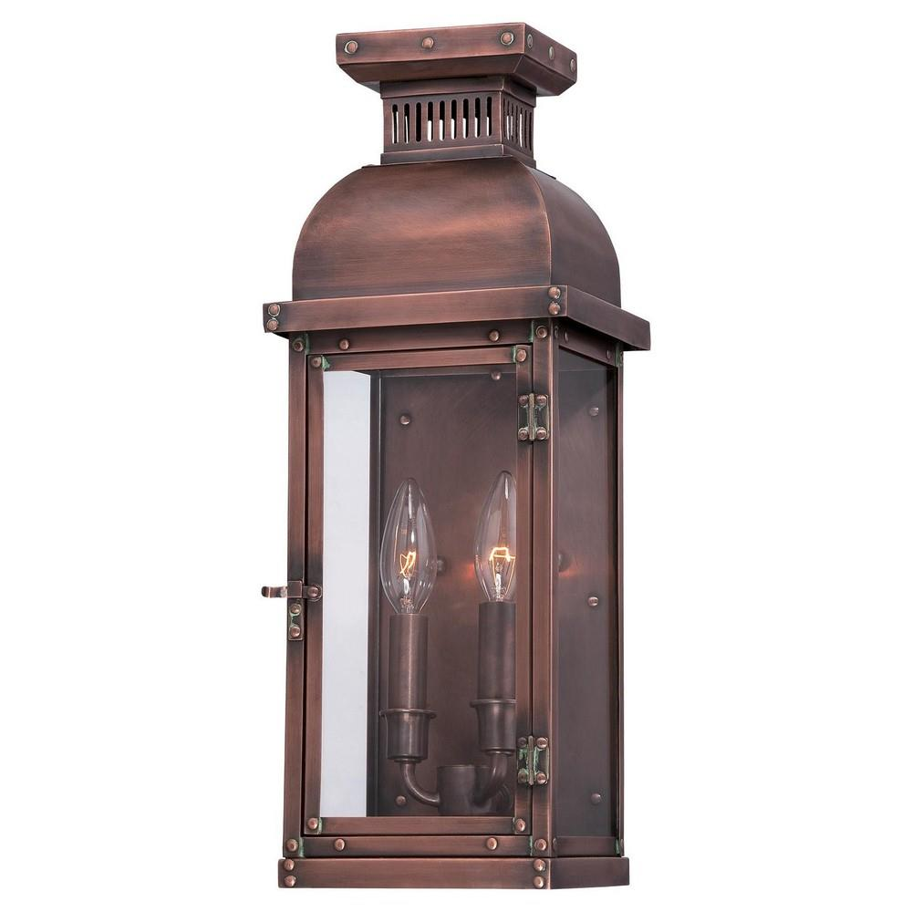 minka great outdoors 9071 264 copperton two light outdoor