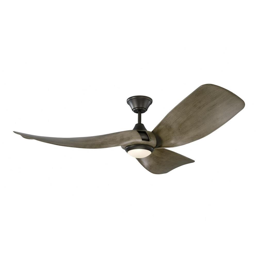 Monte Carlo Fans 3mer56 Melody 3 Blade 56 Inch Ceiling Fan With Handheld Control And Includes Light Kit