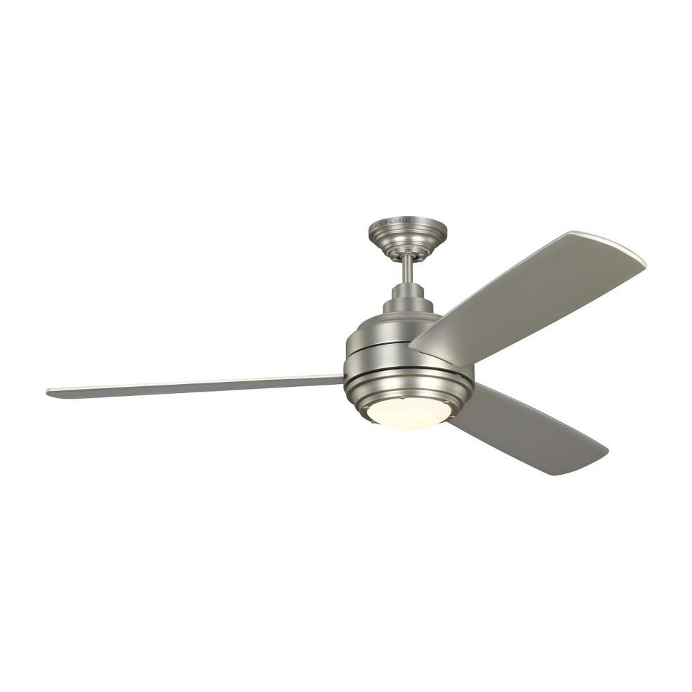 Monte Carlo Fans 3tar56 Aerotour 3 Blade 56 Inch Ceiling Fan With Handheld Control And Includes Light Kit