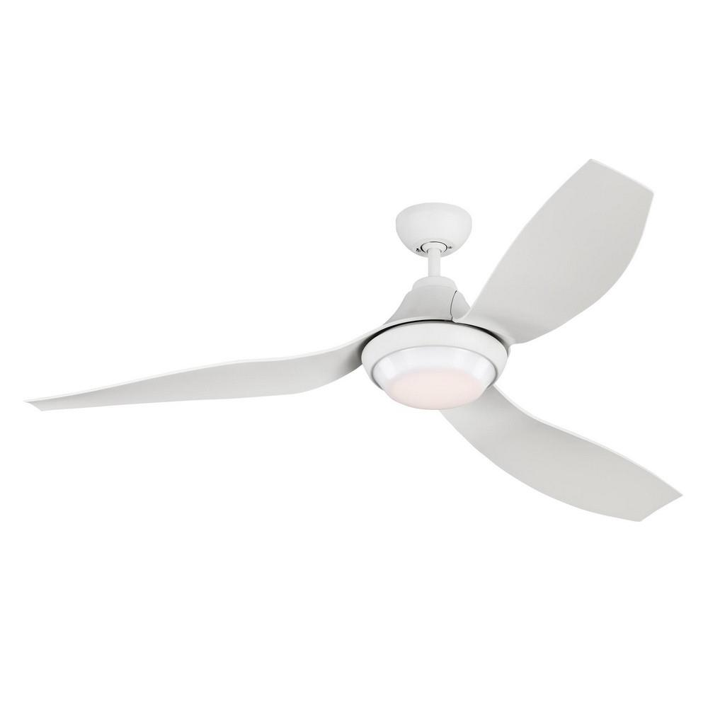 Monte Carlo Fans 3avor56 96 3 Blade 56 Inch Ceiling Fan With Handheld Control And Includes Light Kit