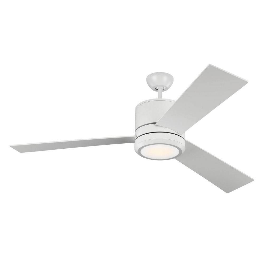 Monte Carlo Fans 3vismax 96 3 Blade 56 Inch Ceiling Fan With Wall Control And Includes Light Kit