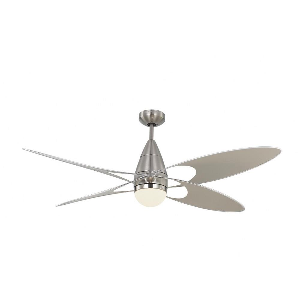 Monte Carlo Fans 4bfr54 Butterfly 4 Blade 54 Inch Ceiling Fan With Handheld Control And Includes Light Kit