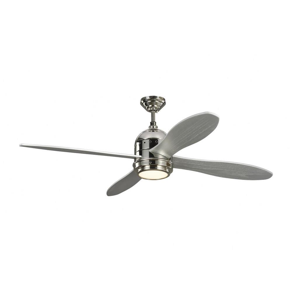 Monte Carlo Fans 4tsr56 Metrograph 4 Blade 56 Inch Ceiling Fan With Handheld Control And Includes Light Kit