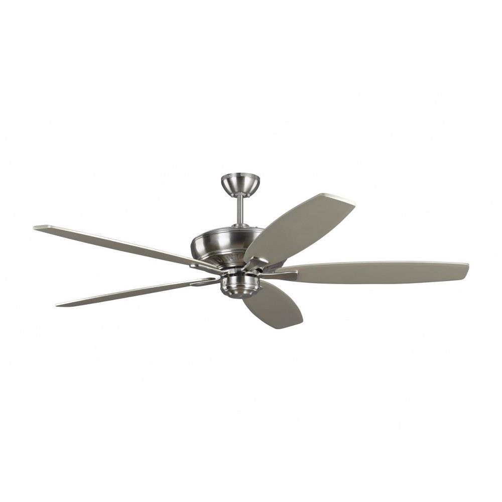 Monte Carlo Fans 5dvr60 Dover 5 Blade Ceiling Fan With Handheld Control In Transitional Style 60 Inches Wide By 15 81 Inches High