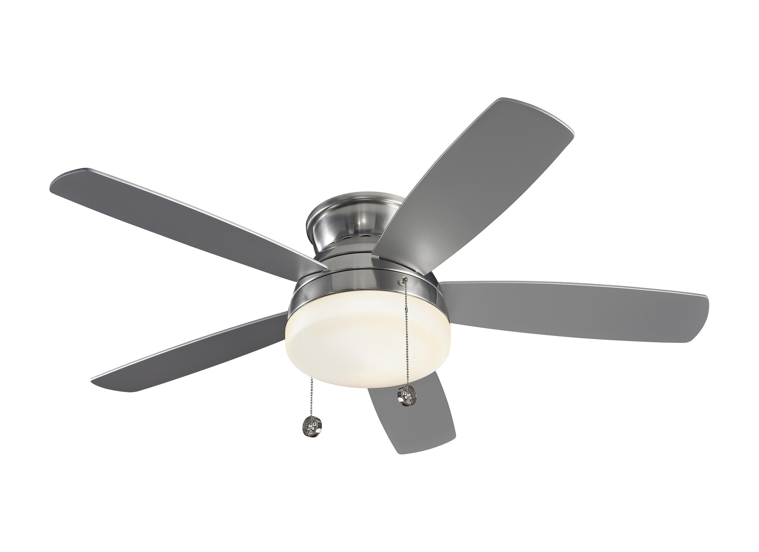 Monte Carlo Fans 5tv52 V1 Traverse 5 Blade Ceiling Fan With Pull Chain Control And Includes Light Kit 52 Inches Wide By 12 Inches High