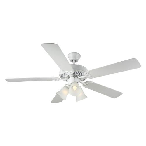 Monte Carlo Fans Bf3 Wh Home Builder Iii 52 Ceiling Fan