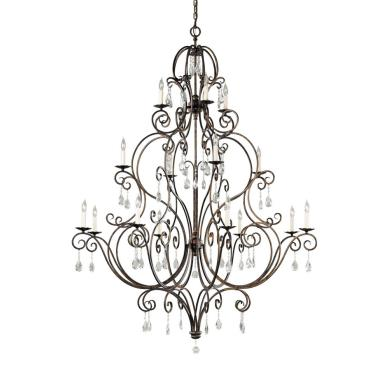 Feiss F2110/8+4+4MBZ Chateau Collection Chandelier