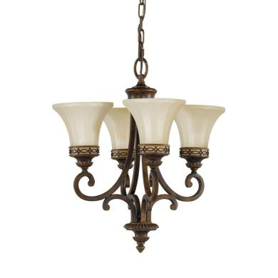 Feiss F2221/4WAL Drawing Room CollectionChandelier - Mini Duo