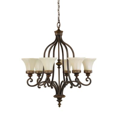 Feiss F2224/6WAL Drawing Room CollectionChandelier