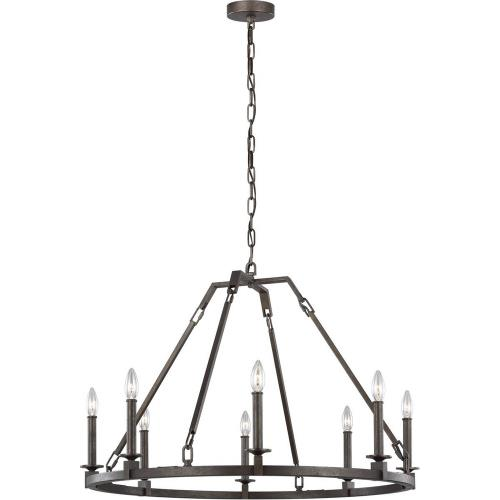 Murray Feiss Lighting Parts: Eight Light Chandelier