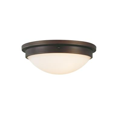 "Feiss FM228ORB Boulevard 13"" Flush Mount Ceiling Fixture"
