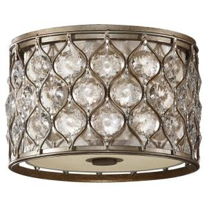 Lucia   Two Light Flush Mount