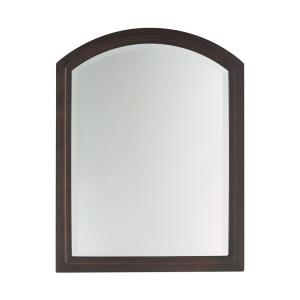 Boulevard Rectangular Mirror with Curved Top