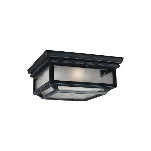 Murray Feiss Shepherd: Two Light Outdoor Flush Mount