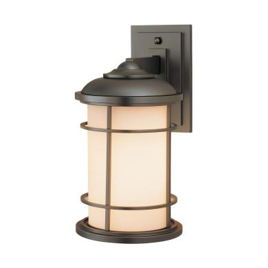 Feiss OL2201BB Wall Mount Lantern
