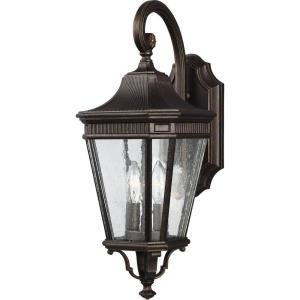 """Cotswold Lane - 8.13"""" Two Light Outdoor Wall Lantern"""