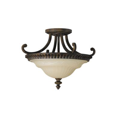 Feiss SF239WAL Drawing Room CollectionSemi Flush