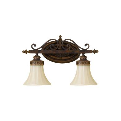 Feiss VS12502-WAL Drawing Room Collection2 Light Vanity