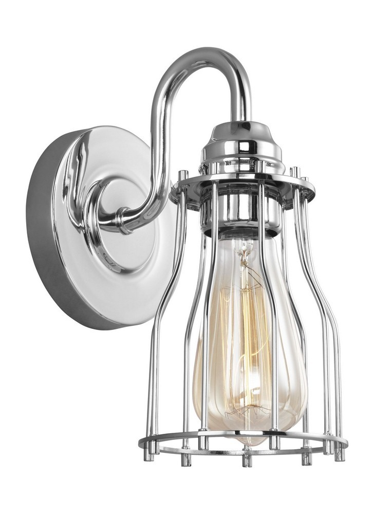 Feiss-VS24001CH-Calgary - One Light Wall Sconce  Chrome Finish