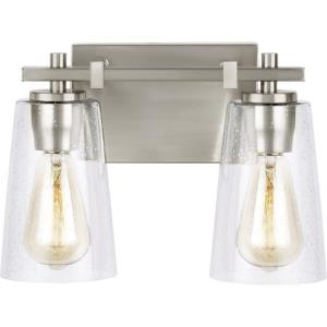 Mercer   Two Light Bath Vanity