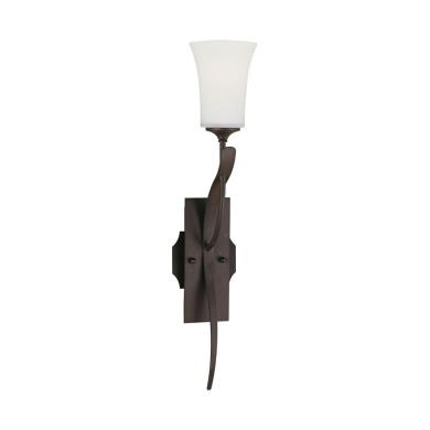 Feiss WB1219ORB Boulevard Sweeping Wall Sconce