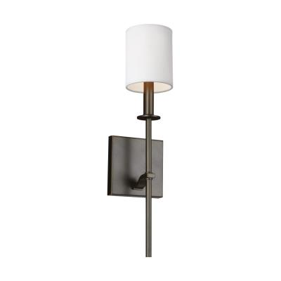 Feiss WB Hewitt One Light Wall Sconce - Single light bathroom sconce