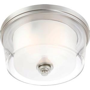 Decker - Three Light Large Flush Mount