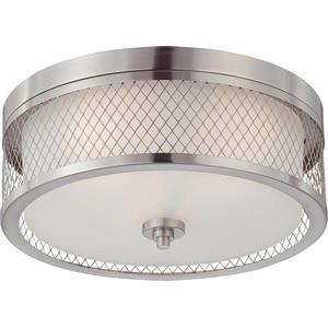 Fusion - Three Light Dome Flush Mount
