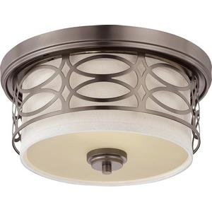 Harlow - Two Light Dome Flush Mount