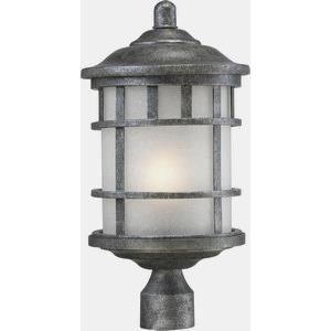 Manor - One Light Outdoor Post Lantern
