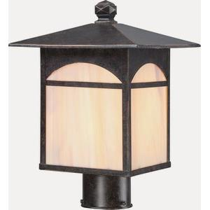Canyon - One Light Outdoor Post Lantern