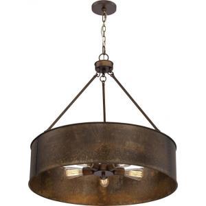 Kettle - Five Light Oversized Pendant