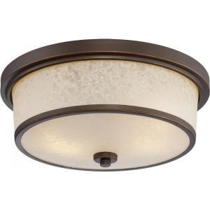 "Diego - 13"" 19.6W 2 LED Outdoor Flush Mount"