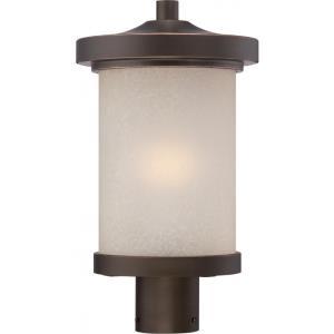 "Diego - 16.13"" 9.8W 1 LED Outdoor Post Lantern"
