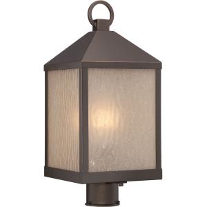 """Haven - 19.75"""" 9.8W 1 LED Outdoor Post Lantern"""
