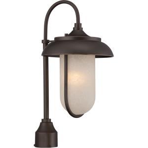 "Tulsa - 21"" 9.8W 1 LED Outdoor Post Lantern"
