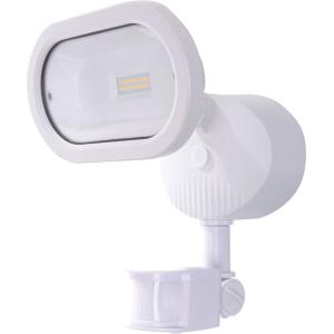 """6.38"""" 14W 1 LED Single Head Outdoor Security Light with Motion Sensor"""
