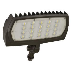 """8.91"""" 30W 3000K 1 LED Outdoor Adjustable Neck Flood Light"""