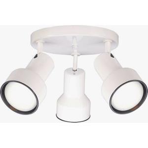 Three Light Step Cylinder Lamp