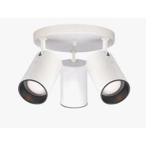 Three Light Straight Cylinder Lamp