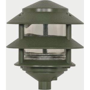One Light 3 Tier Outdoor Pathway Lamp