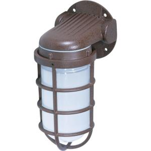One Light Vapor Proof Small Outdoor Wall Mount