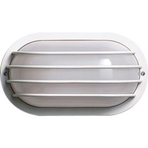 One Light Oval Cage Outdoor Wall Mount