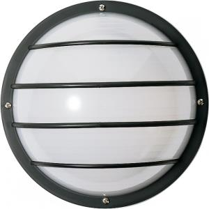 One Light Round Cage Outdoor Wall Mount