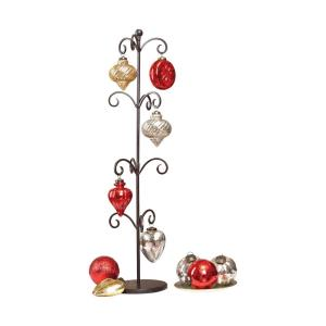"""Festival - 33"""" Ornaments and Stand (Set of 12)"""